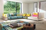現代家具の居間のイタリアの革リクライニングチェアのソファー