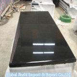 建築材料のための中国の固体山西の黒い花こう岩の平板