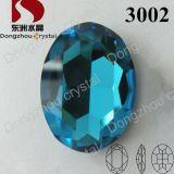 Toebehoren van de Steen van het Kristal van het Punt van het kristal de Achter Ovale (3002)