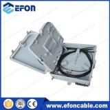 ODF Waterproof 8 Core PLC Splitter Caixa de distribuição de fibra óptica para pólo