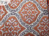 Tissu de capitonnage de jacquard avec le Chenille fabriqué en Chine