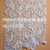Vlakke Vervaardiging vl-100033 van de Stof van het Kant van het Huwelijk van het Borduurwerk