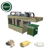Hghy biodegradierbare Bagasse-Massen-Tafelgeschirr-Platten-Herstellung-Maschine Wegwerfpapierteller, der Maschine herstellt