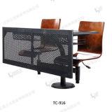 Nuevos escritorio y silla de los estudiantes de los muebles de la sala de clase de la escuela de la educación del diseño