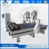 Маршрутизатор CNC машинного оборудования гравировки мебели с головкой 4