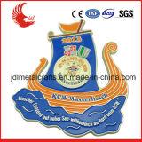 Medaglie del metallo dello smalto di alta qualità dei prodotti del fornitore dell'oro di Zhongshan