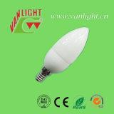 蝋燭の形CFL 7W-E14 (VLC-CD-7W-E14)、省エネランプ