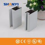 Puder-Beschichtung-Aluminiumstrangpresßling-Profil/Aluminiumprofil für Industrie-Baumaterial