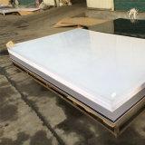 Помутнение литого акрилового волокна белого листа 2050x3050мм