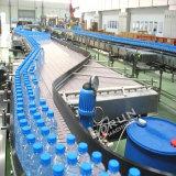 Полностью автоматическая пластиковые бутылки воды мойка заполнение Capping и маркировка машины