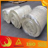 El material de aislamiento térmica manta de lana de piedra ignífuga