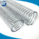 1/4''-10'' pulgadas muelle helicoidal espiral de PVC reforzado con alambre de acero la manguera de descarga de succión