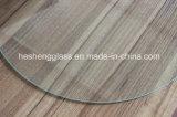 10mm Plain Round Tempered Table Glass Vidro Toughened