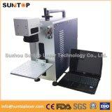 Máquina negra del laser de la marca de las tenazas médicas/máquina negra del laser de la marca para las piezas médicas