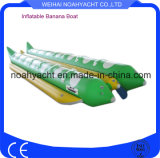 Barco de plátano inflable hecho en fábrica del PVC de 10 12 14 16 pasajeros de China para la venta