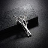 Scissors имитационный Brooch Pin плакировкой родия ювелирных изделий для платья
