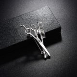 Scissors imitation Jewelry rhodium Plating pin Brooch for Dress