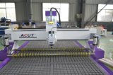 Máquina de madera del ranurador del CNC del Solo-Eje de rotación del Ce con el vector del vacío