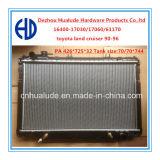 Toyota 땅 Cruiser (HLD12165) OEM를 위한 알루미늄 Plastic Auto Radiators: 16400-17030