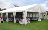 Tiendas de campaña del partido acondicionador de aire para eventos con la decoración