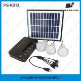 Солнечная осветительная установка с заряжателем панели солнечных батарей 11V 4W и телефона USB для крытого (PS-K013)