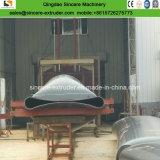 630mm 710mm 1680mmのPEの熱絶縁体の管の放出の生産ライン