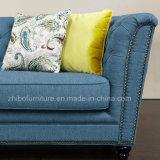 Lファブリックソファーの形のコーナーのソファー