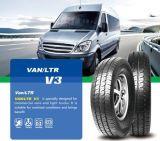 Le véhicule radial chinois en gros du pneu de véhicule de prix usine 145r12c 155r12c 165 70r13c 185r14c 195r14c 205r14c 195r15c bande des listes des prix