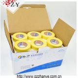 Amarillo, blanco, cinta adhesiva adhesiva de los 48mm*50m sin residuo