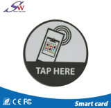 Logotipo Rewritable do costume de Keychain do Tag de Ntag215 RFID mini NFC