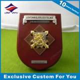 Finlândia Custom Power Facility Alloy Medallion Award Wooden Shields