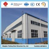 Buidlingの倉庫のためのプレハブの低価格の鉄骨フレームの構造