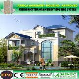Nuevo contenedor de prefabricados de acero de la luz de la habitación del Hotel Vila Casa modular