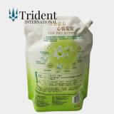 OEM/ODM aangepaste Tribune op de Plastic Vloeibare Detergentia van de Was van de Wasserij van de Zak van de Zeep Verpakkende Vloeibare