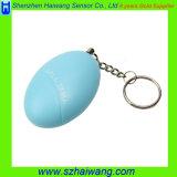 個人的なアラーム安全なフットボールの小型Keychain個人的なアラーム