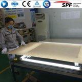Vidro solar do baixo ferro para o módulo/painel solares