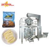 Вертикальная автоматическая машина для упаковки закуска, гранул