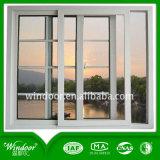 Finestra di alluminio di superficie rivestita di vendita della polvere calda della finestra di alluminio/finestra della stoffa per tendine