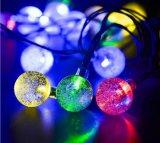 Decorational LED低価格の点滅ライトストリップの日曜日力の太陽電池パネルのクリスマスの照明