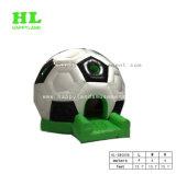 De purpere Uitsmijter van het Voetbal van de Voetbal van de Bodem Opblaasbare Springende voor Jonge geitjes
