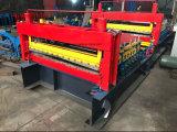 Het Blad die van het metaal Scheurend Scherpe Machine met Elektrische Decoiler afvlakken