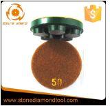 3 '' Metallfußboden-Reinigungs-reibende Polierauflagen fünf Segmente