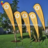 L'abitudine che fa pubblicità all'evento esterno mette in mostra la bandierina della bandiera (BL-TFB75)