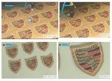Máquina de corte a laser de CO2 com marca comercial