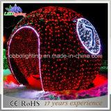 Indicatore luminoso esterno commerciale di motivo della decorazione della sfera della via del commercio all'ingrosso LED