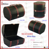 Ретро чемодан вина бутылки конструкции 6 (5504R9)