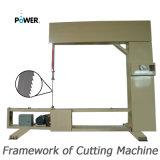 Máquina de estaca vertical manual da borracha de espuma ou das lãs da isolação