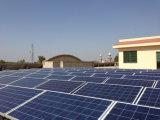 Central energética solar amarrada grade