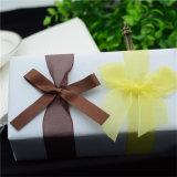 Handarbeit-Satin-Farbband-Querbinder selbstklebend für Schokoladen-Kasten