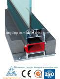 Perfis de alumínio para janelas e cortinas